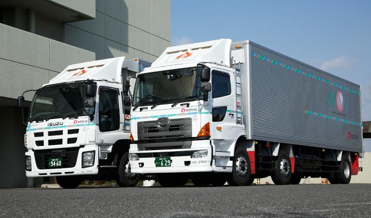 トラック輸送 | 濃飛倉庫運輸株式会社